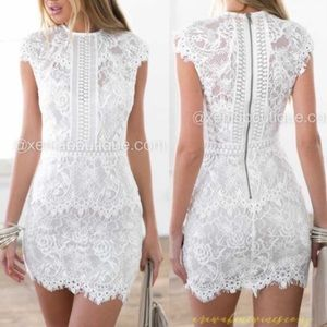 Incredible Xenia Boutique lace dress 👗 💗!